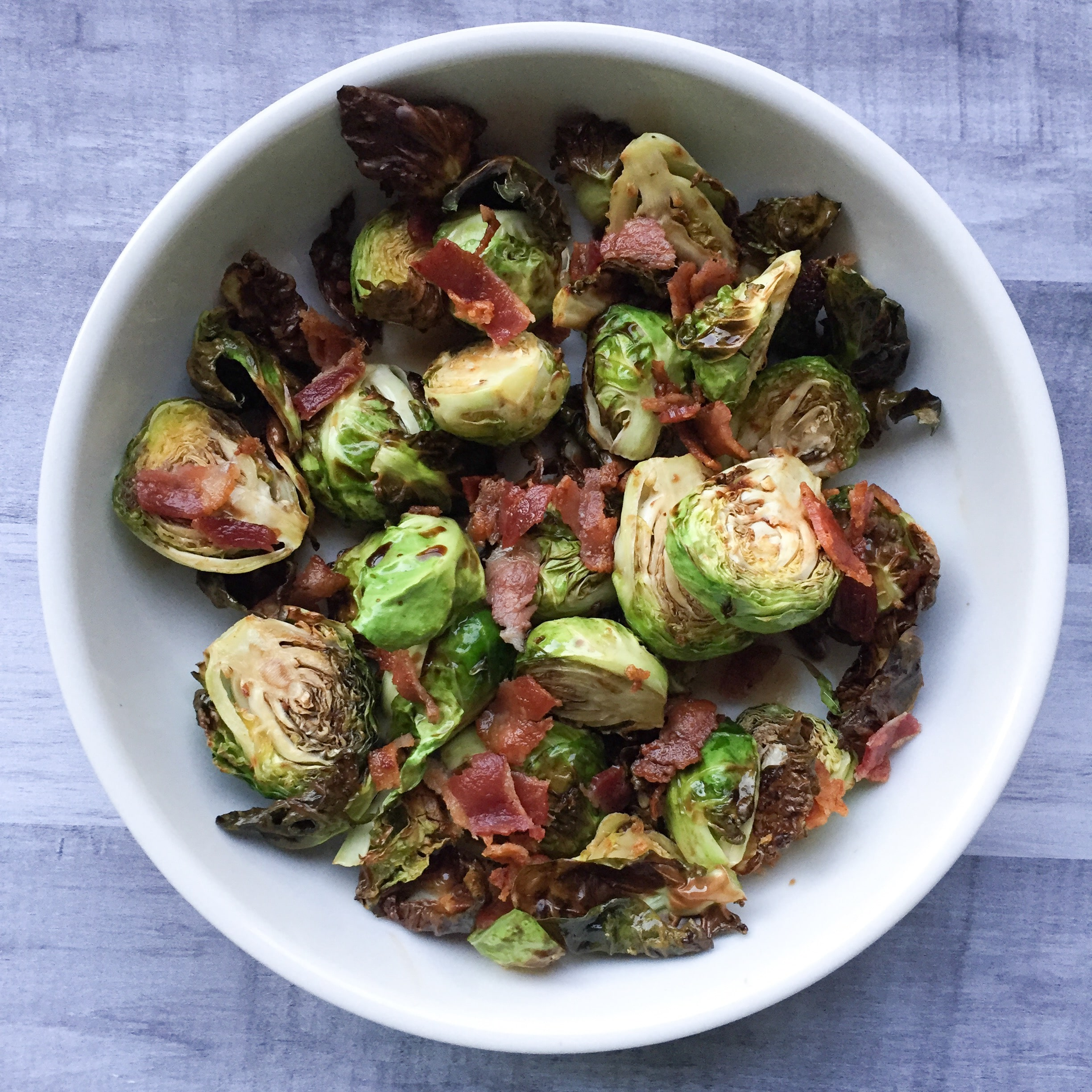 Air Fried Brussel Sprouts Beauty And The Bench Press