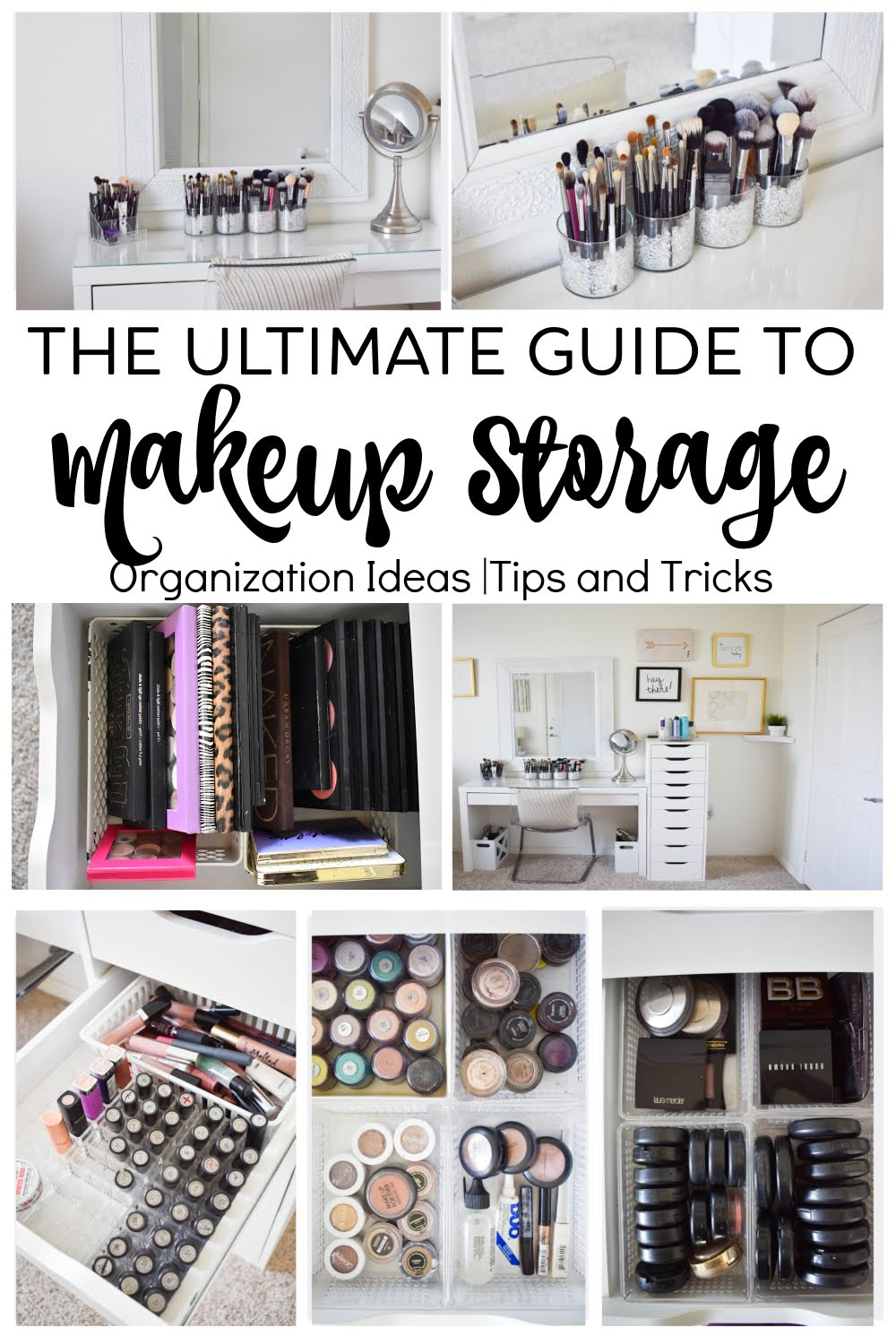 Makeup Storage And Organization Tips And Ideas